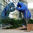 That Big Blue Bear Again by TonyCrehan