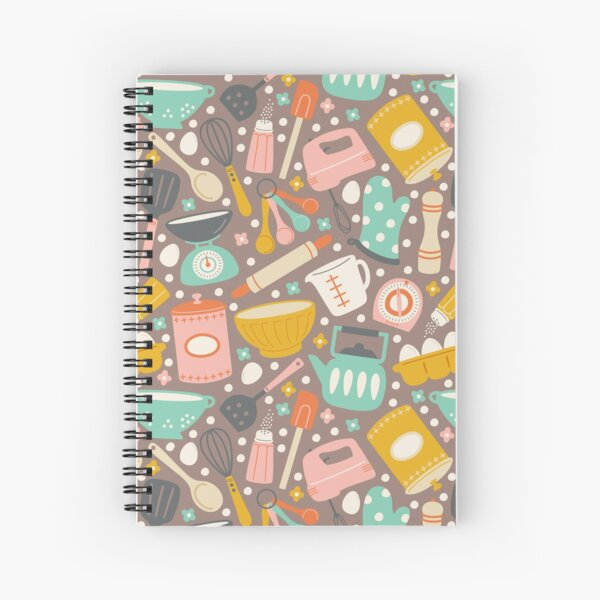 In the Kitchen Spiral Notebook