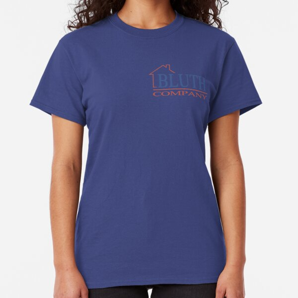 Arrested Development Bluth Company Womens T-shirt Buster Michael Tobias Gob Tee