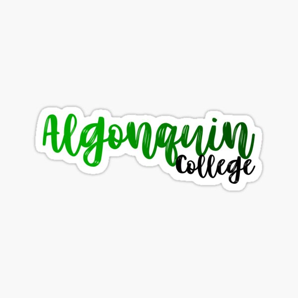 Algonquin College Sticker