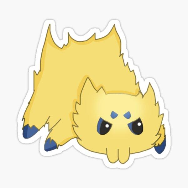 Angry Joltik Sticker
