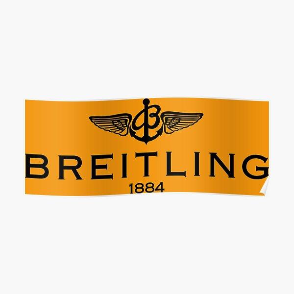 Best Breitling Merchandise Logo Poster