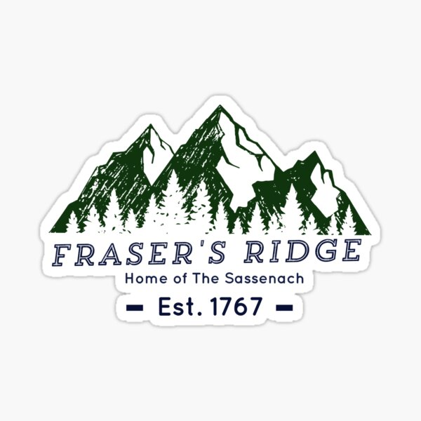 Fraser's Ridge Sticker