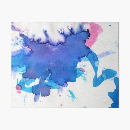 Abstract Bi Flag (Raine) Art Board Print
