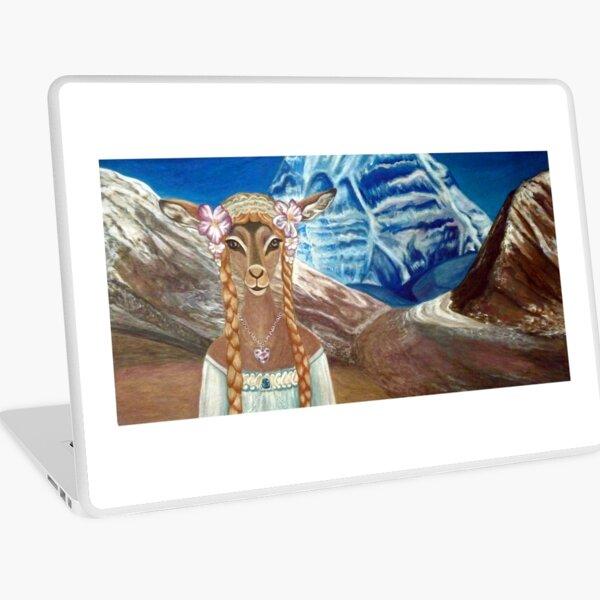 Lady Impala in Tibet's Mount Kailash Laptop Skin