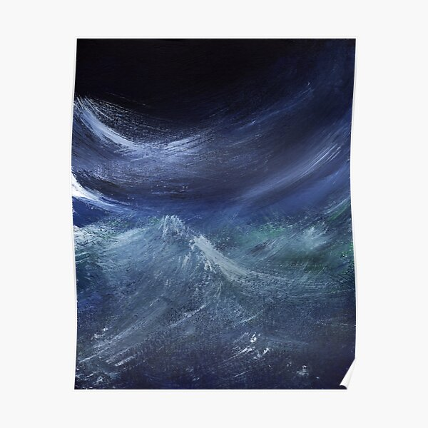 Night Waves Poster