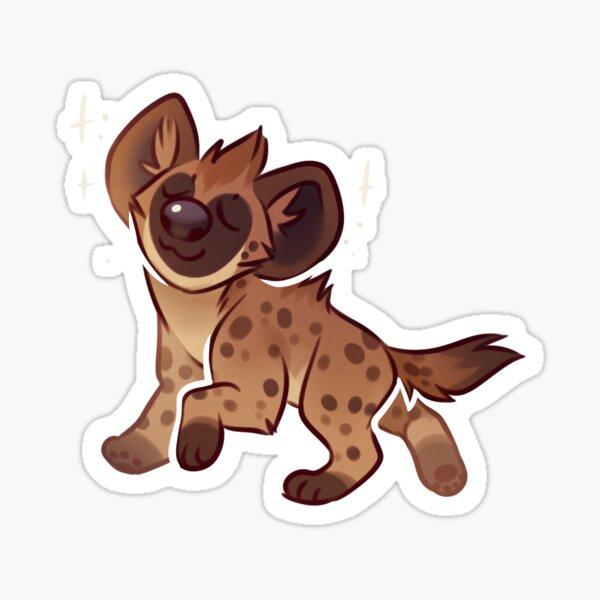 Spotted Hyena Sticker