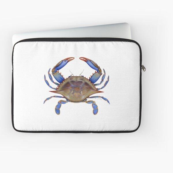 Blue Crab (Callinectus sapidus) Laptop Sleeve