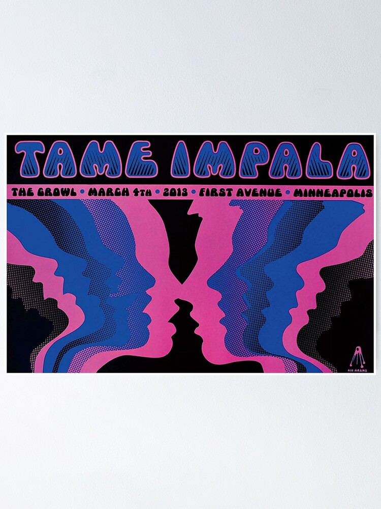 Alternate view of Purple Impala Poster