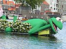 frog prince in harbour  by LisaBeth