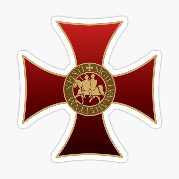 Croix des Templiers Sticker