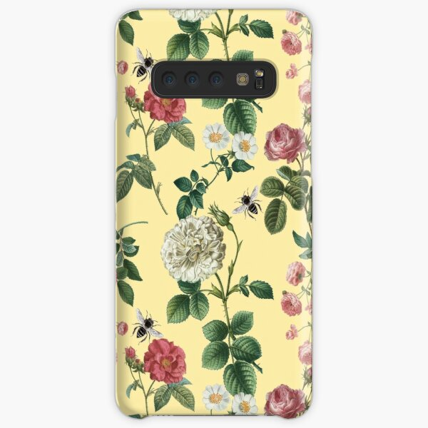 Antique Rose Clotted Cream Samsung Galaxy Snap Case