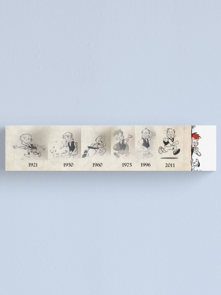 Alternate view of Evolution of Meggs Canvas Print