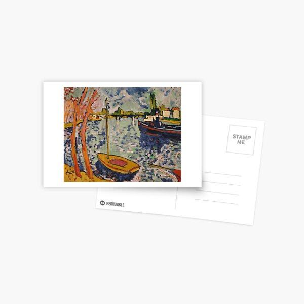 Seine Chatou Postcard