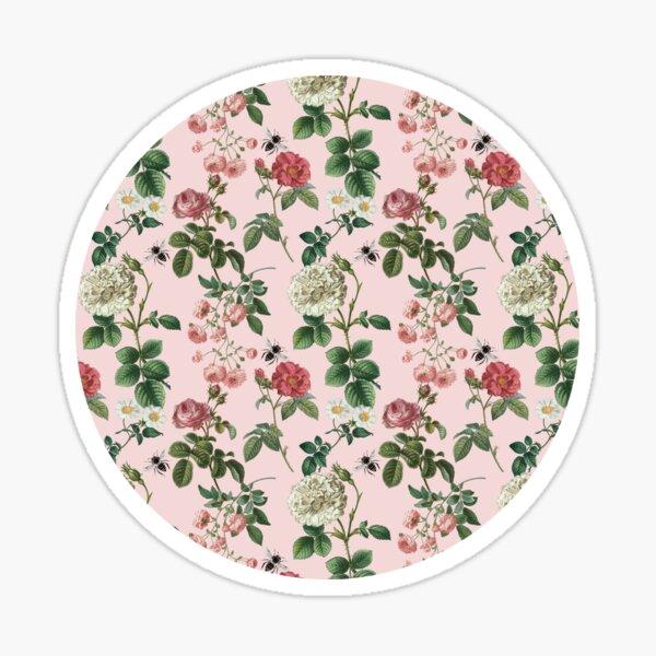 Antique Rose Blush Pink Sticker