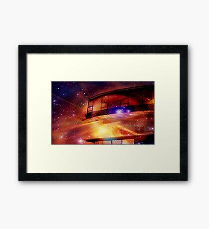 Space Port 21649 Framed Print