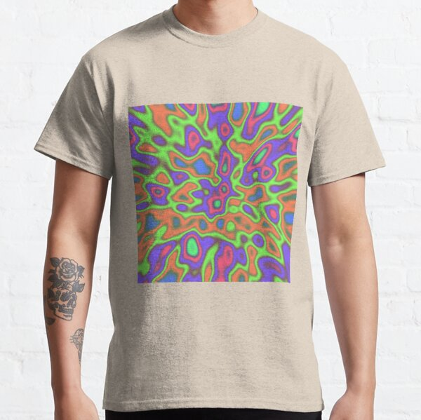 Color Sequences from LightGreen to PaleVioletRed Classic T-Shirt