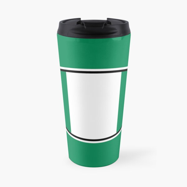 Nigeria Flag Stickers, Gifts and other Products Travel Mug