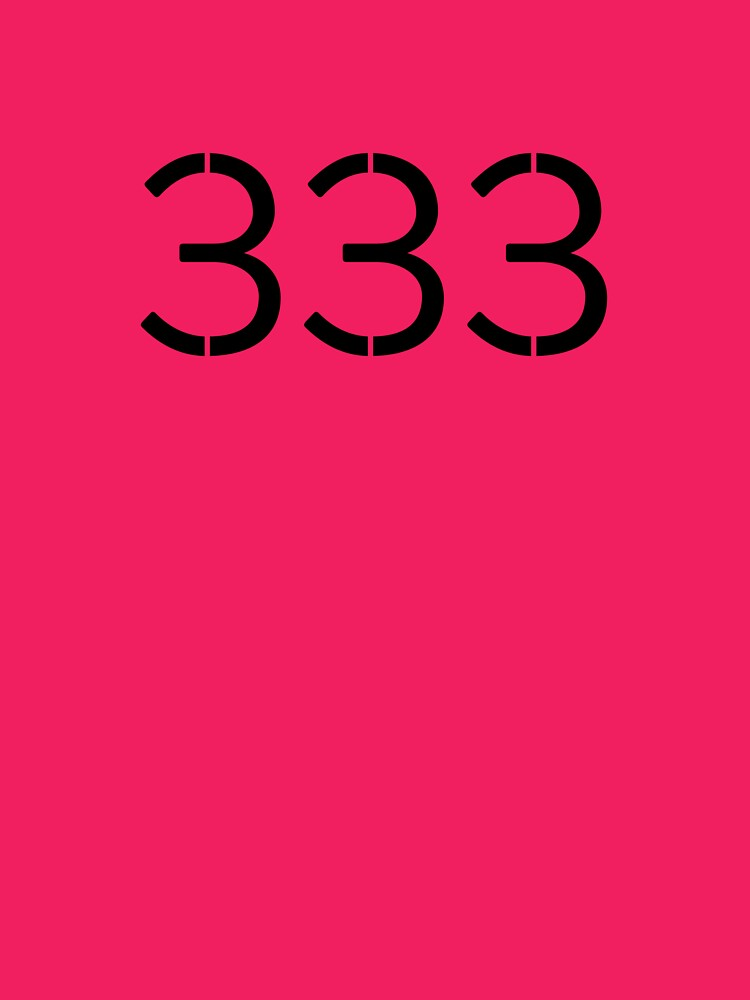 My Angel Number is 333 and it's My Lucky One by masternumbers