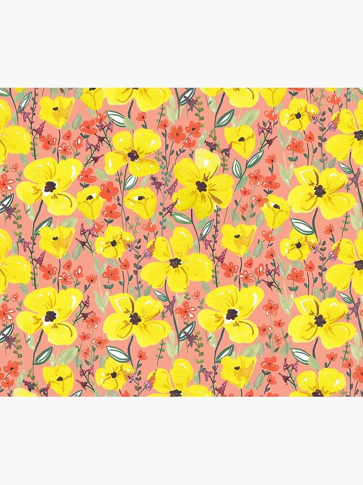 Gelbe Wiesen Blumen von RanitasArt