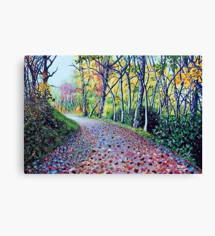 'Where The Day Takes Us' Canvas Print