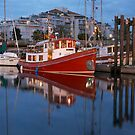 A Tugboat in Port by Tim Grams