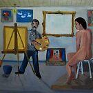 The Artist's studio by Kostas Koutsoukanidis