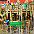Boat, Stonington, Maine by fauselr