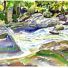 Waterville - Creek Scene by mleboeuf