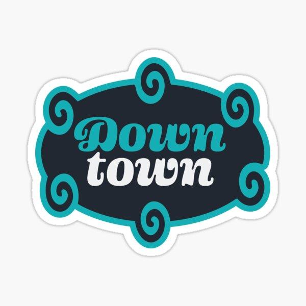 Downtown Icon Sticker