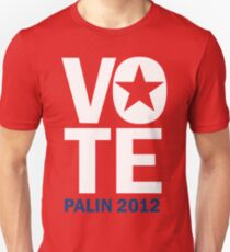 Vote Palin 2012 T-Shirt