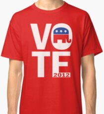 Vote Republican 2012 Classic T-Shirt