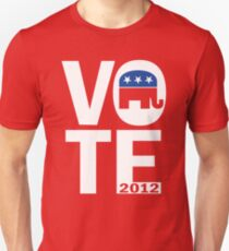 Vote Republican 2012 T-Shirt