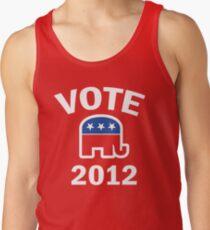 Retro Republican 2012 Shirt Tank Top