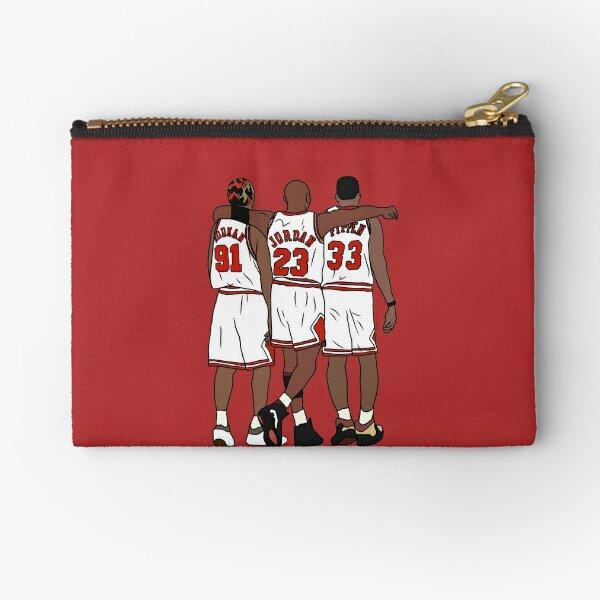 Rodman, MJ & Scottie Zipper Pouch
