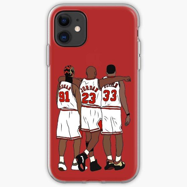 Rodman, MJ & Scottie iPhone Soft Case