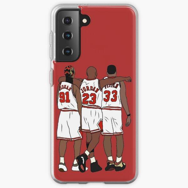 Rodman, MJ & Scottie Samsung Galaxy Soft Case