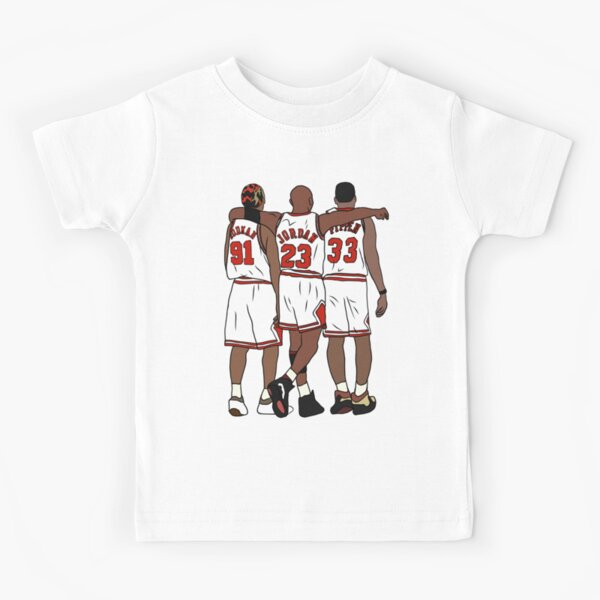Rodman, MJ & Scottie Kids T-Shirt
