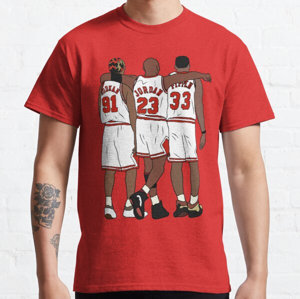 Rodman, MJ & Scottie Classic T-Shirt