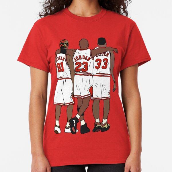 Rodman, MJ & Scottie Classic T-Shirt