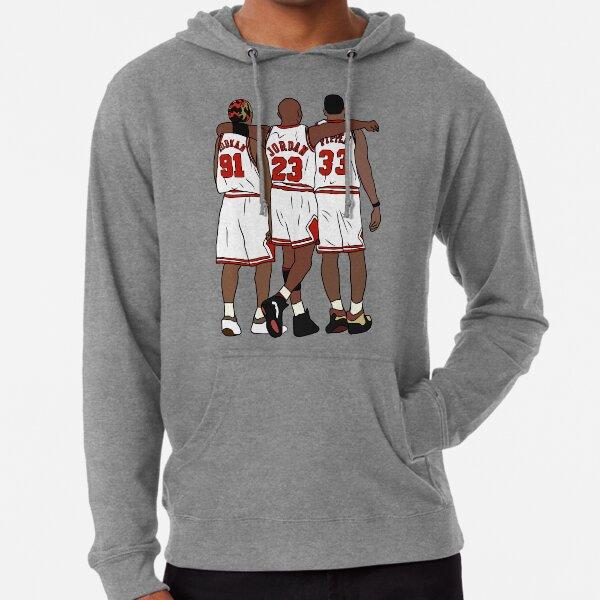 Rodman, MJ & Scottie Lightweight Hoodie