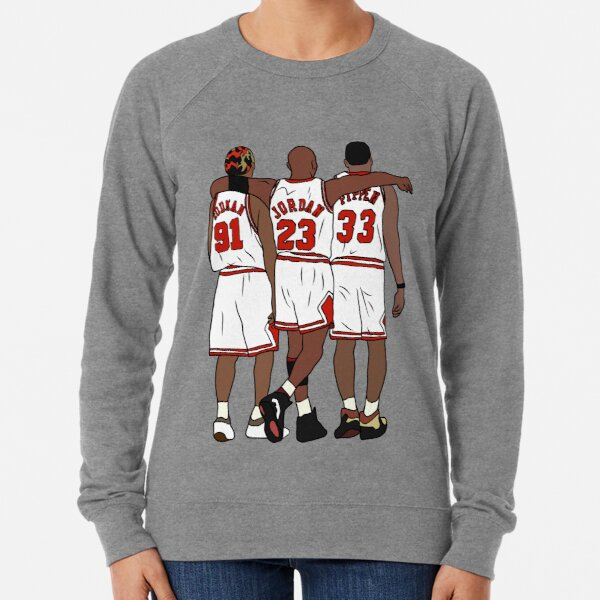 Rodman, MJ & Scottie Lightweight Sweatshirt