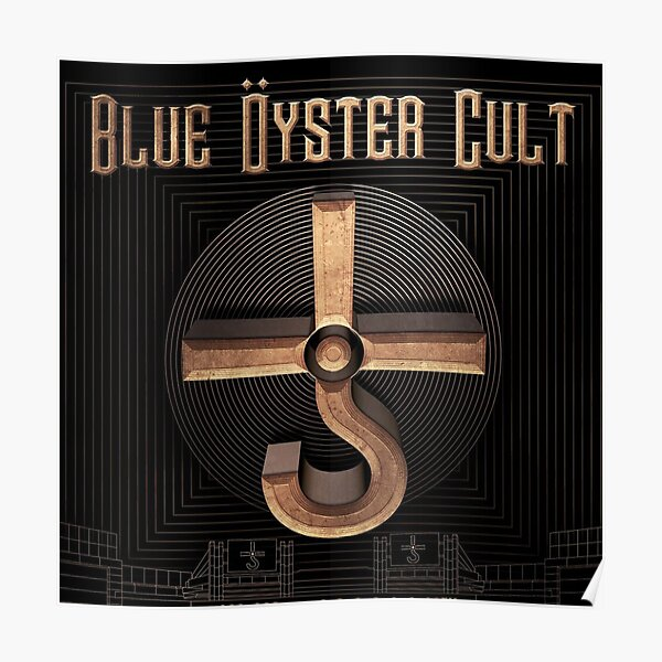 Music Bue Oyster Cult Band Tour Poster