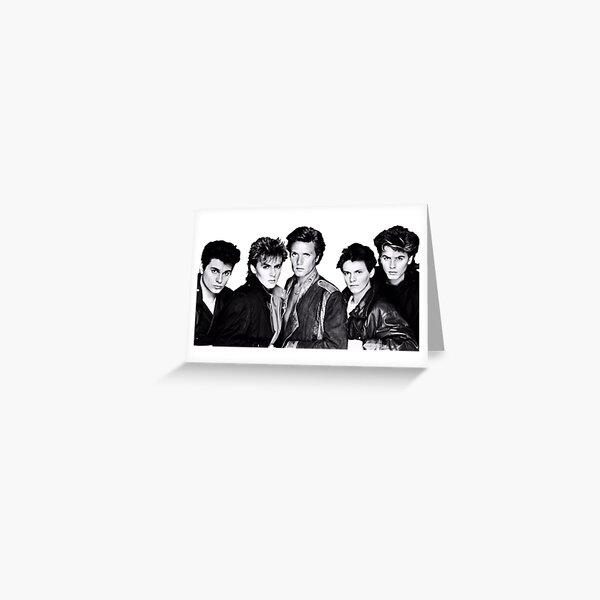 Duran Duran Greeting Card