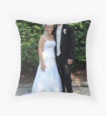 Bride & Groom Throw Pillow