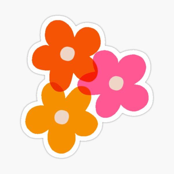80's Flower Power Sticker