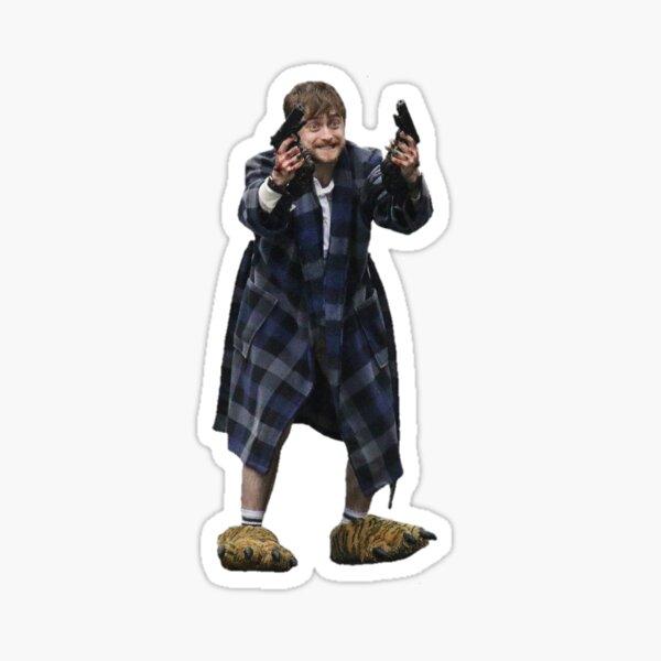 Daniel Radcliffe crack attack Sticker