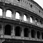 Before entering the Colosseum by Baha Mosa