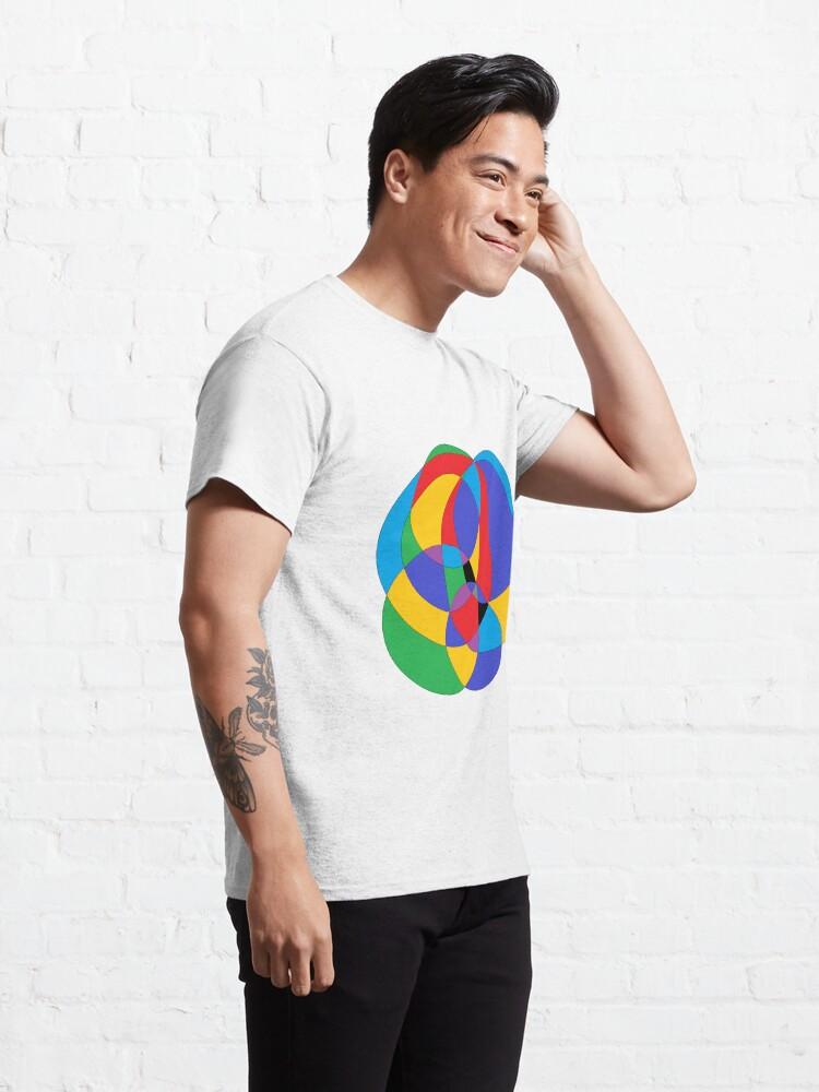 Alternate view of Circle - 2D shape Classic T-Shirt