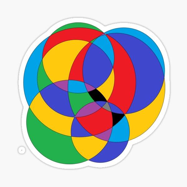 Circle - 2D shape Sticker